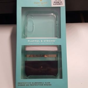 """Case kate spade for iphone x/xs 5.8"""" used like new"""
